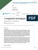 L'imaginaire écologique