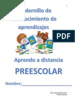 cuadernillo de reconocimientos de aprendizajes