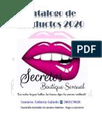 CATALOGO DE PRODUCTOS AÑO 2020 - SECRETOS .pdf