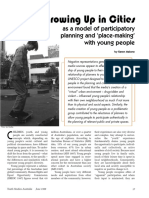 GROWING UP in CITIES_as a Model of Participatory Planning