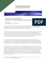 Mills- Concrete software. Simondon_s mechanology and the techno-social