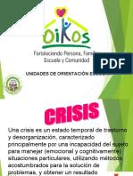 PRESENTACIÓN UOE INTERVENCION EN CRISIS