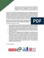 2020.03.11 comunicado sindical crisis coronavirus