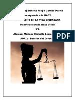 Principal propósito del derecho