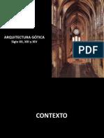 Presentación  Arquitectura Gótica