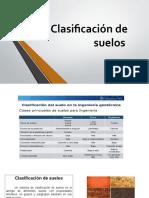 4.3 CLASIFICACION DE SUELOS