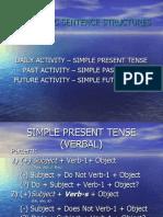 SIMPLE PRESENT, PAST, FUTURE  TENSE t.ppt