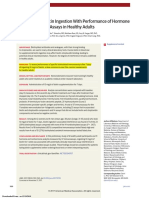Association of Biotin Ingestion With Performance of Hormone and Nonhormone Assays in Healthy Adults