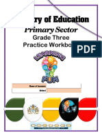 Grade 3 Practice Workbook 2020