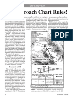 approach chart rules