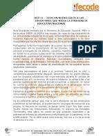 Comunicado ICFES