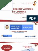 Marco Legal del Currículo en Colombia