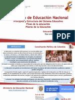 MEN - Fines de la Educacion - Pilares