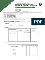 practica 3 y 4 cocientes notables - factorizacion