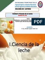 SESION 1 Y 2- TECNOLOGIA DE LACTEOS