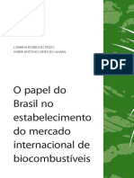 O papel do Brasil no estabelecimento do mercado internacional de biocombustíveis