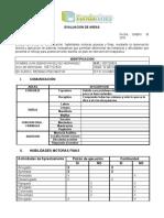 evaluacion areas
