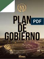 Plan de Gobierno - Lista 53 - Vivi Peñarol