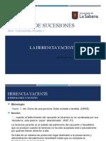 8. Sucesiones - Herencia Yacente.pptx