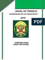 PLAN ANUAL DE TRABAJO 2019  ICHUÑA