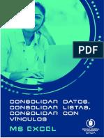 20. Consolidar datos, consolidar listas, consolidar con vínculos