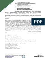EJERCICIOS COMPRENSIÓN LECTORA FILOSOFÍA