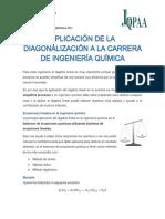 APLICACIONES DE DIAGONALIZACION EN INGENIERA QUIMICA.pdf