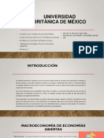 Presentación Ejecutiva Economías Abiertas