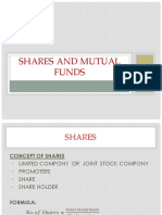 Maths mutual shares and funds
