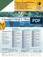 Cartel Segundo congreso Cirugía Oral y maxilofacial 2020 4_1