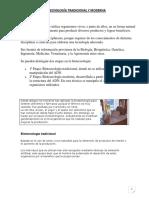 Bibliografia-Biotecnología Tradicional y Moderna