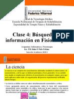 CLASE4 Busqueda de informacion en fisioterapia.pptx