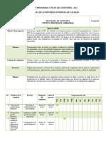 TALLER PROGRAMA Y PLAN DE AUDITORÍA FINANCIERA ANDREA DE LA ROSA