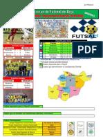 Resultados da 5ª Jornada do Campeonato Distrital da AF Beja em Futsal