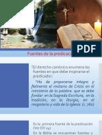 Tema 4. FUENTES DE LA PREDICACION