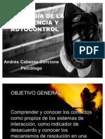 PSICOLOGÍA DE LA EMERGENCIA Y AUTOCONTROL