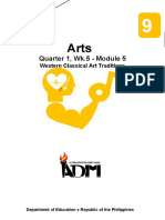 arts9_q1_mod5_Western Classical Art Traditions_v3