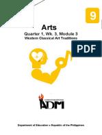arts9_q1_mod3_Western Classical Art Traditions_v3.docx