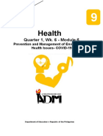 health9_q1_mod6_Prevention and Management of Environmental Health Issues- COVID-19_v3