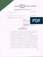 Lokhandwala Order