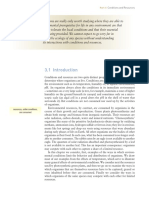 Conditions & Resources 1 (Townsend, et.al, 2008)