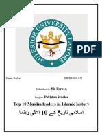 Umair Bashir Pak Study Final Assignment