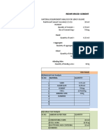 Reinforced cement concrete work rate analysis sheet 11.53 (1)