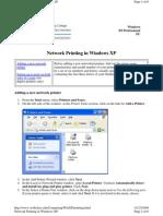 Network Printing Setup