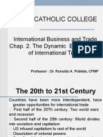 Chap. 2. The Dynamic  Environment of International Trade.pptx