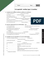 Fiche 121 - Le comparatif et superlatif - MEILLEUR (QUE) - LE MEILLEUR.pdf