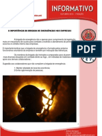 1° Edição - A importancia da brigada e emergencia nas empresas