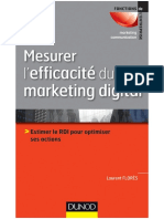 Mesurer lefficacité du marketing digital