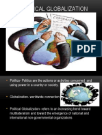 Political Globalization Power Point