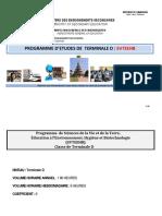 Programme de TD (harmonisé)